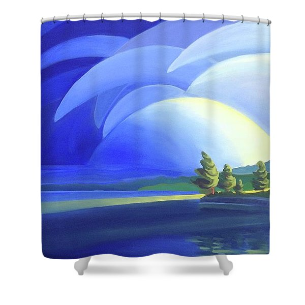 Passing Storm Shower Curtain