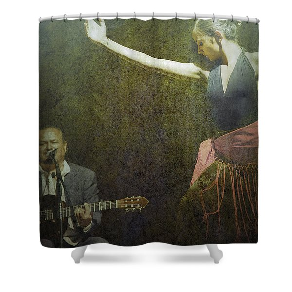 Passion Of The Dance Shower Curtain
