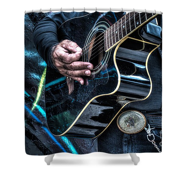 Passionate And Vibrant Shower Curtain
