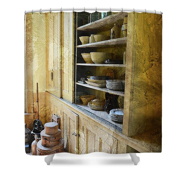 Past Dreams Present Reality Shower Curtain