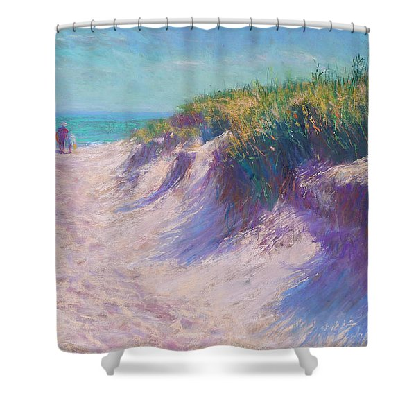Past The Dunes Shower Curtain