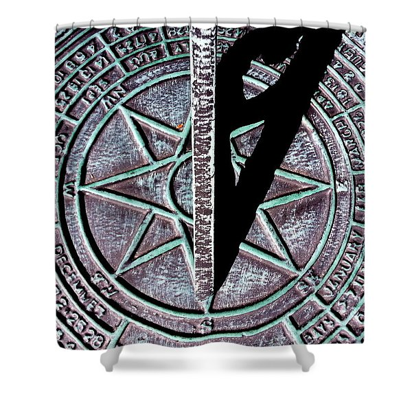 Past Time Shower Curtain