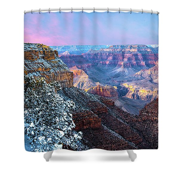 Pastel Canyon Shower Curtain