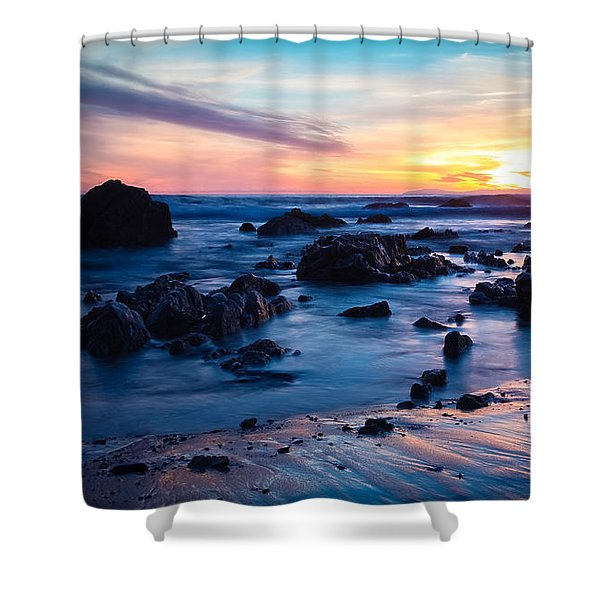 Pastel Fade Shower Curtain