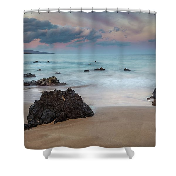 Pastel Hawaii Sunrise Shower Curtain