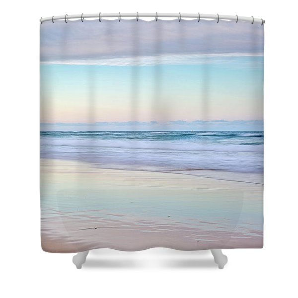 Pastel Reflections Shower Curtain