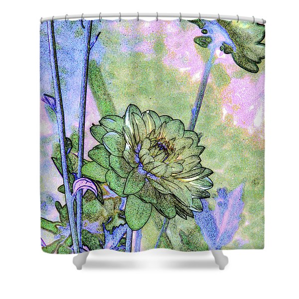 Pastelation Of Reality Shower Curtain