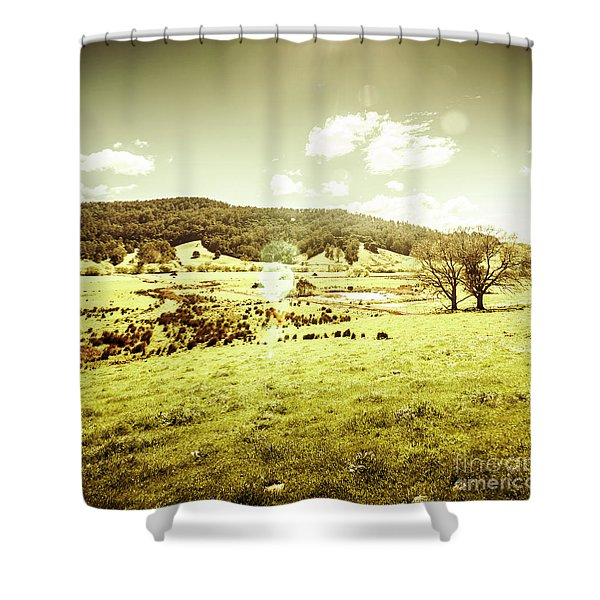 Pastoral Pyengana Shower Curtain