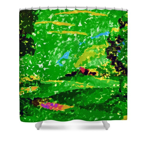 Pastorale Sixth Symphony Shower Curtain