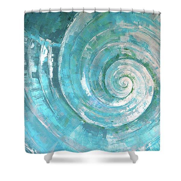 Pastorek Shell Shower Curtain