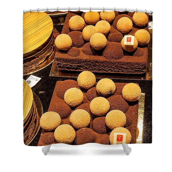 Pastry And Cakes In Lyon Shower Curtain