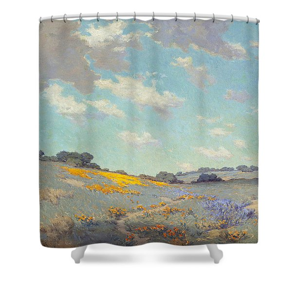 Patch Of Poppies Shower Curtain