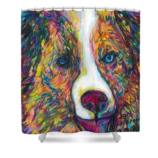 Patches Shower Curtain