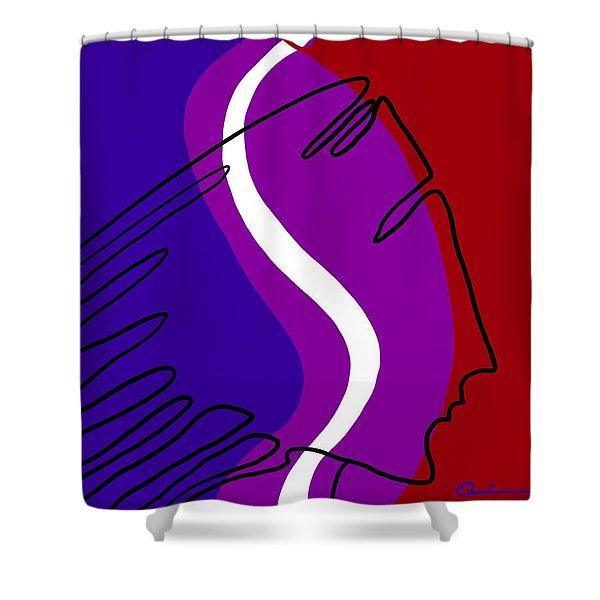 Path Shower Curtain