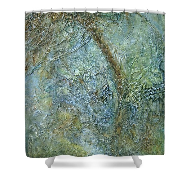 Path Of Invitation Shower Curtain