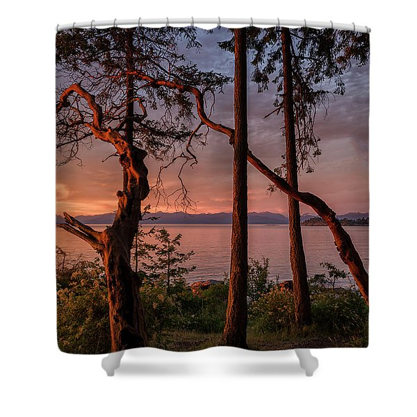 Shower Curtain featuring the photograph Path To Paradise by Randy Hall