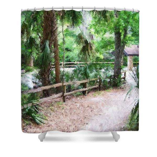 Path To Shade Shower Curtain