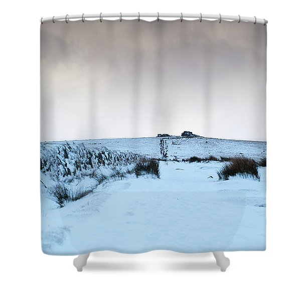 Path To South Hessary Tor II Shower Curtain