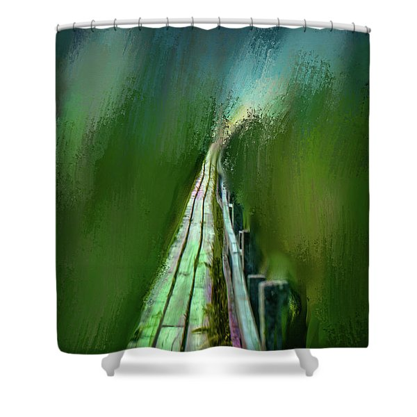 Path To The Unknown #h5 Shower Curtain