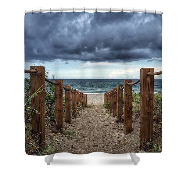Pathway To The Clouds Shower Curtain