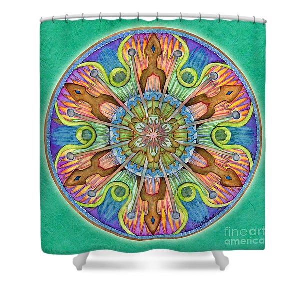 Patience Mandala Shower Curtain