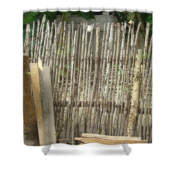 Patio 3 Shower Curtain
