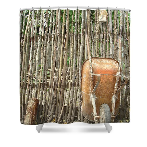 Patio 4 Shower Curtain