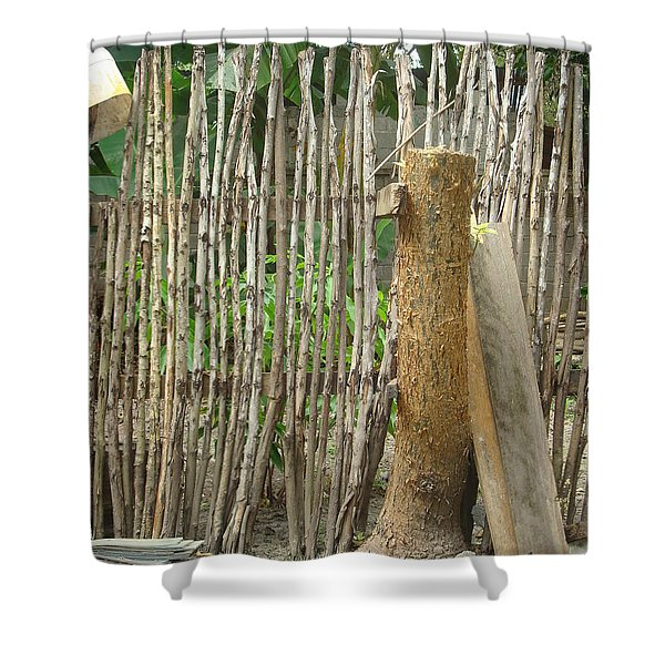 Patio 5 Shower Curtain