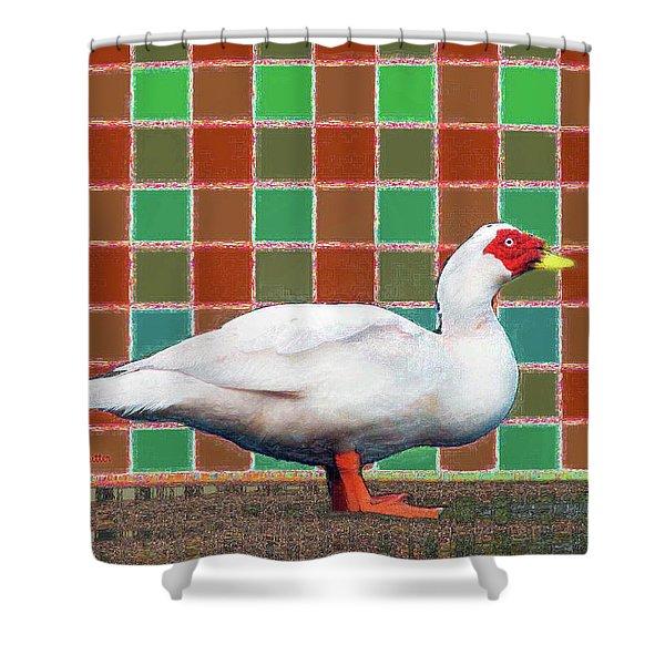 Pato Art 4 Shower Curtain