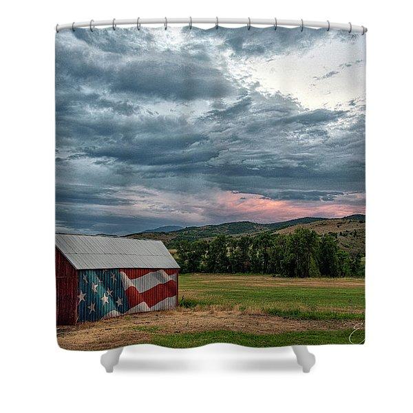 Patriotic Shower Curtain