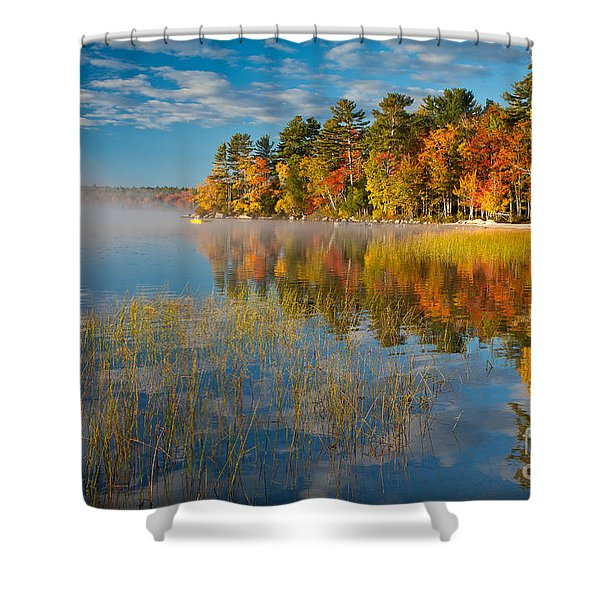 Patten Pond Shower Curtain
