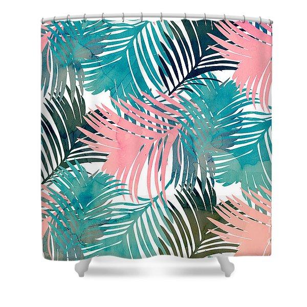 Pattern Jungle Shower Curtain