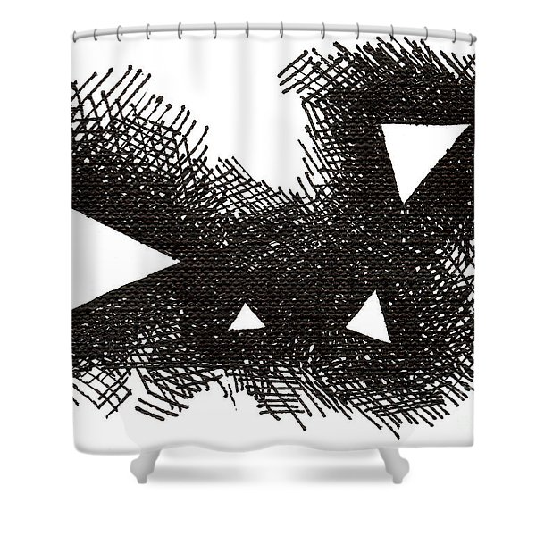 Patterns 2 2015 - Aceo Shower Curtain