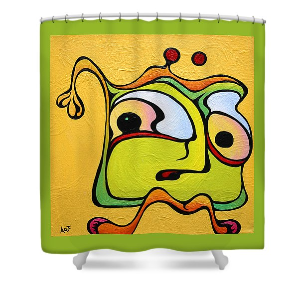 Paul My Finger Shower Curtain