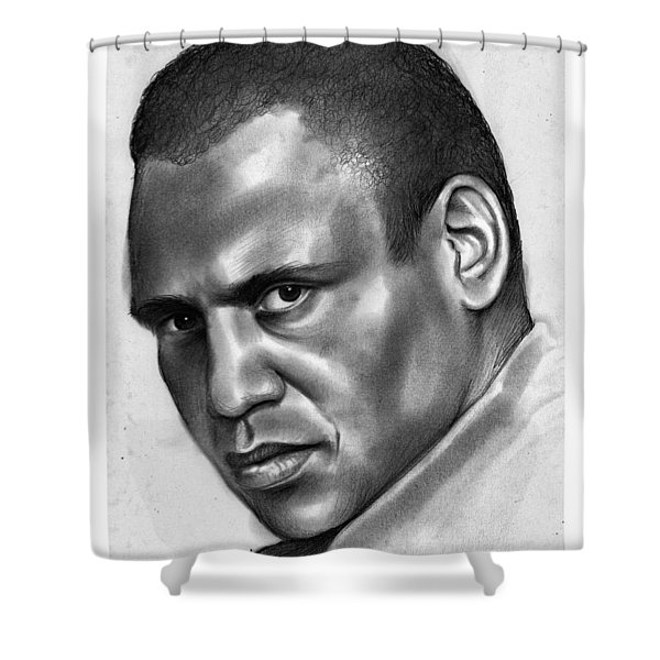 Paul Robeson Shower Curtain