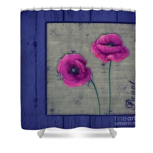 Pavot - A01c11 Shower Curtain