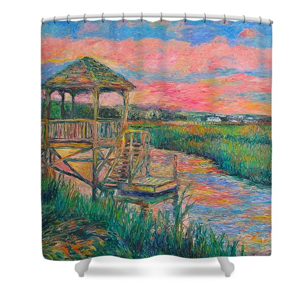 Pawleys Island Atmosphere Stage Two Shower Curtain