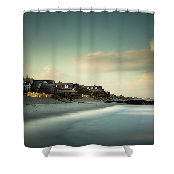 Pawleys Island, One Hour Till Sunset Shower Curtain