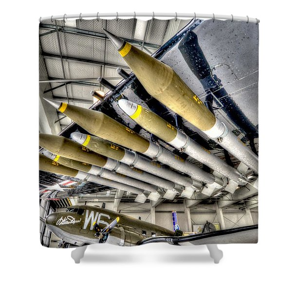 Payload 3 Shower Curtain