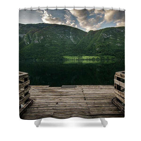 Peace And Clarity Shower Curtain
