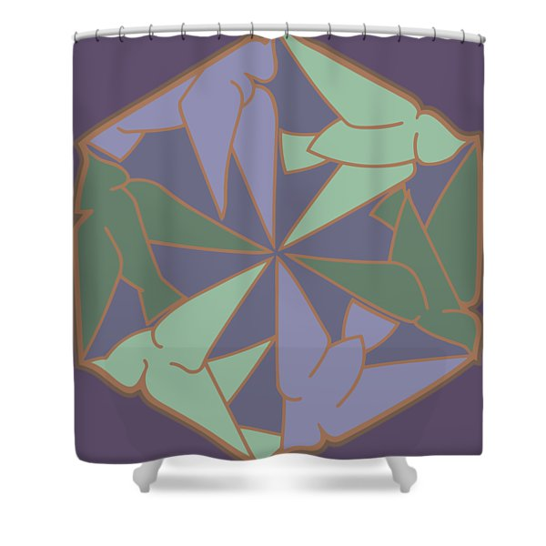 Peace Doves 6 Shower Curtain
