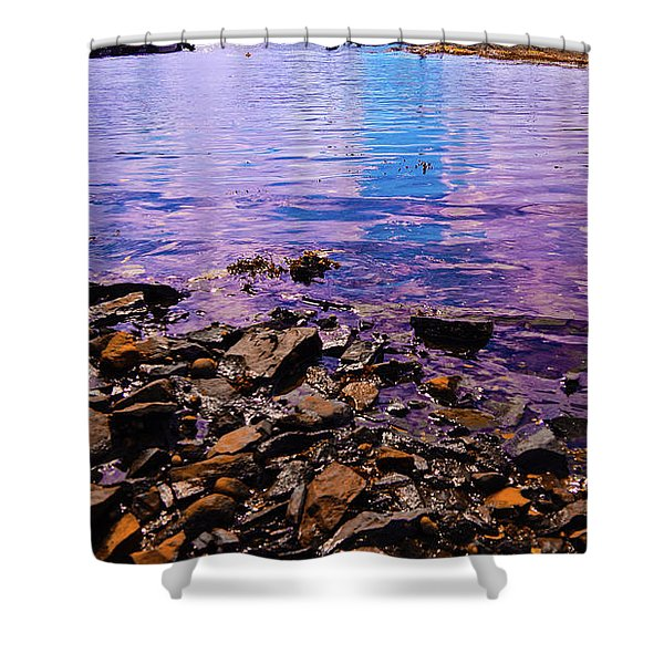 Peace Of Colors  Shower Curtain