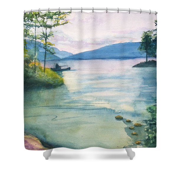 Peace On The Water  Shower Curtain