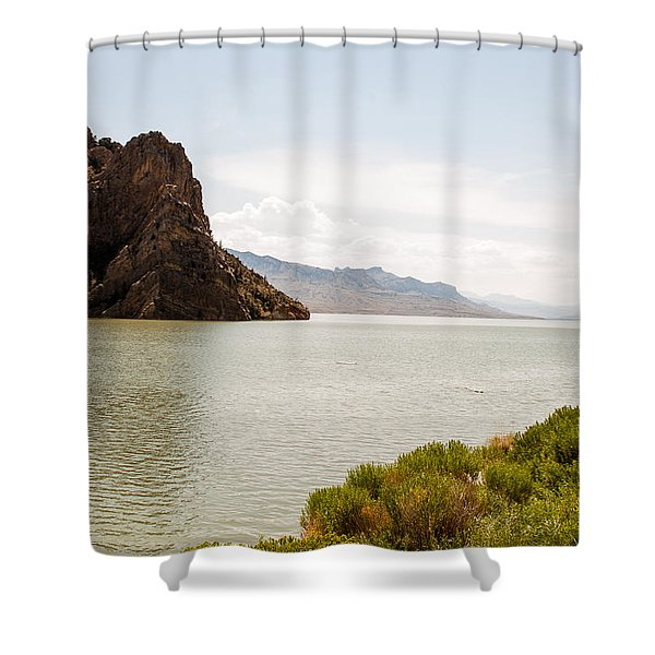 Peaceful Grandeur  Shower Curtain