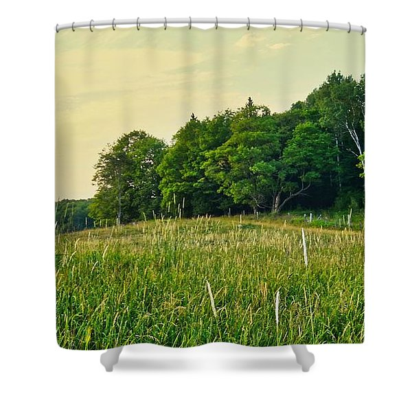 Peaceful Pastures Shower Curtain