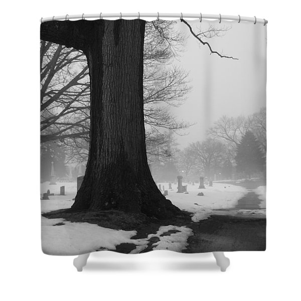 Peaceful Path Shower Curtain