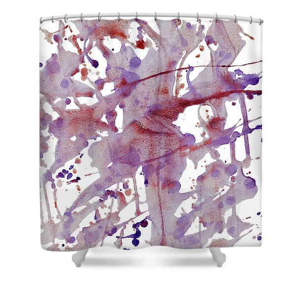 Peaceful Pink Shower Curtain