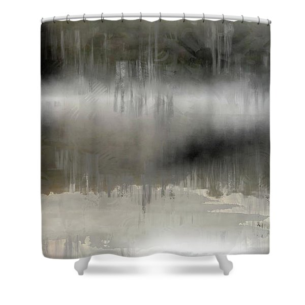 Peaceful Reflection Shower Curtain
