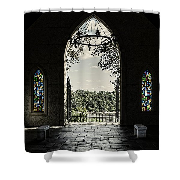 Peaceful Resting  Shower Curtain