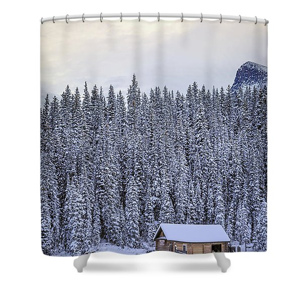 Peaceful Widerness Shower Curtain